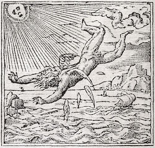 Pictura of Alciato, Andrea: Los Emblemas (1549): De los Astrologos.