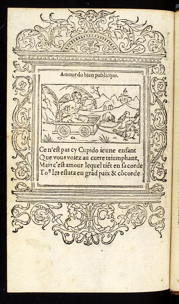 Gla >> French Emblems: Facsimile Page