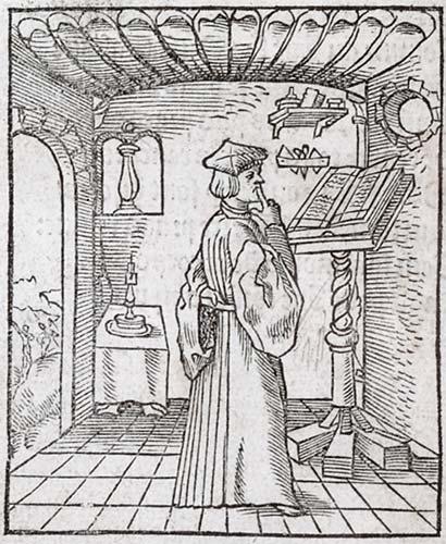 Pictura of Alciato, Andrea: Livret des emblemes (1536): In Silentium. A Silence.