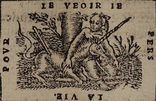 Pictura of Scève, Maurice: Délie (1544): POUR LE VEOIR JE PERS LA VIE.