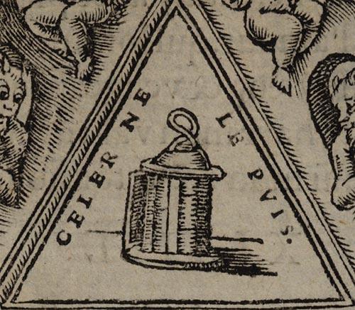 Pictura of Scève, Maurice: Délie (1544): CELER NE LE PUIS.