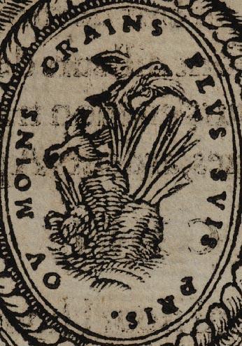 Pictura of Scève, Maurice: Délie (1544): OU MOINS CRAINS PLUS SUIS PRIS.